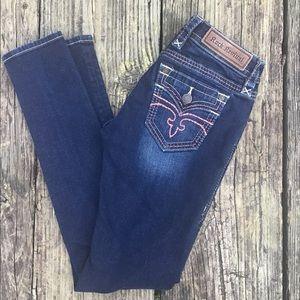 Alivia Skinny Stretch Jeans
